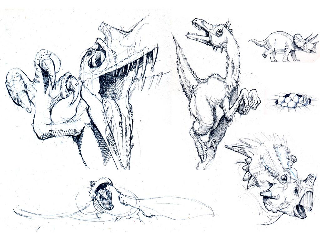 Sherif habashi 55 b dinosaurs