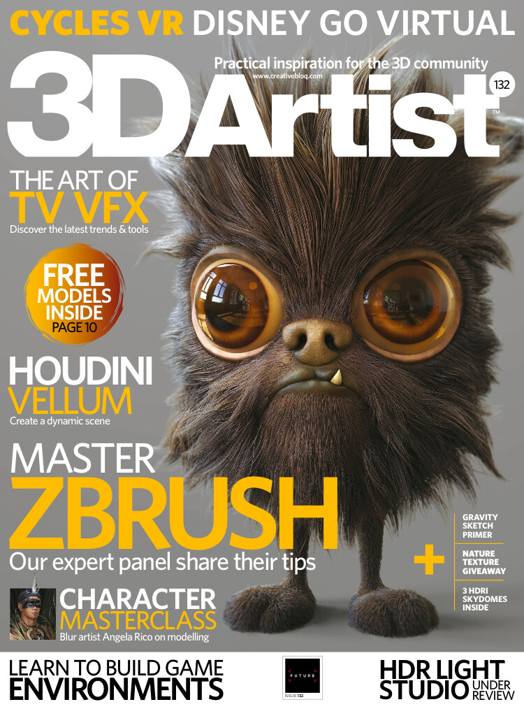 3D Artist Magazine Issue 132 Cover
