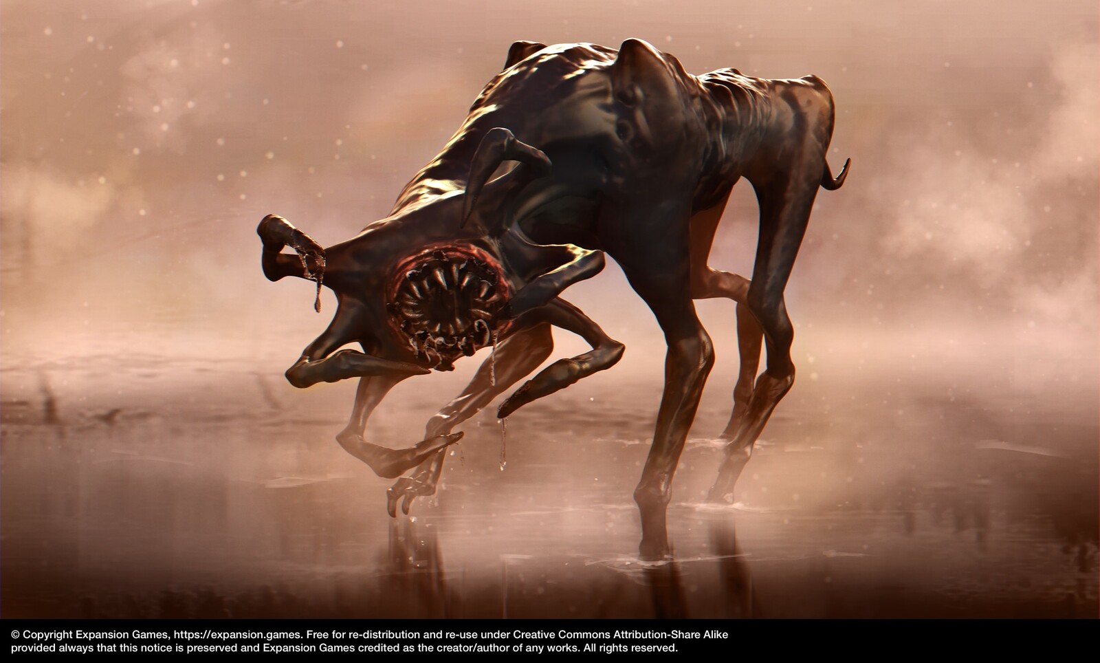 The Mincer | Mobile Game Creature Concept