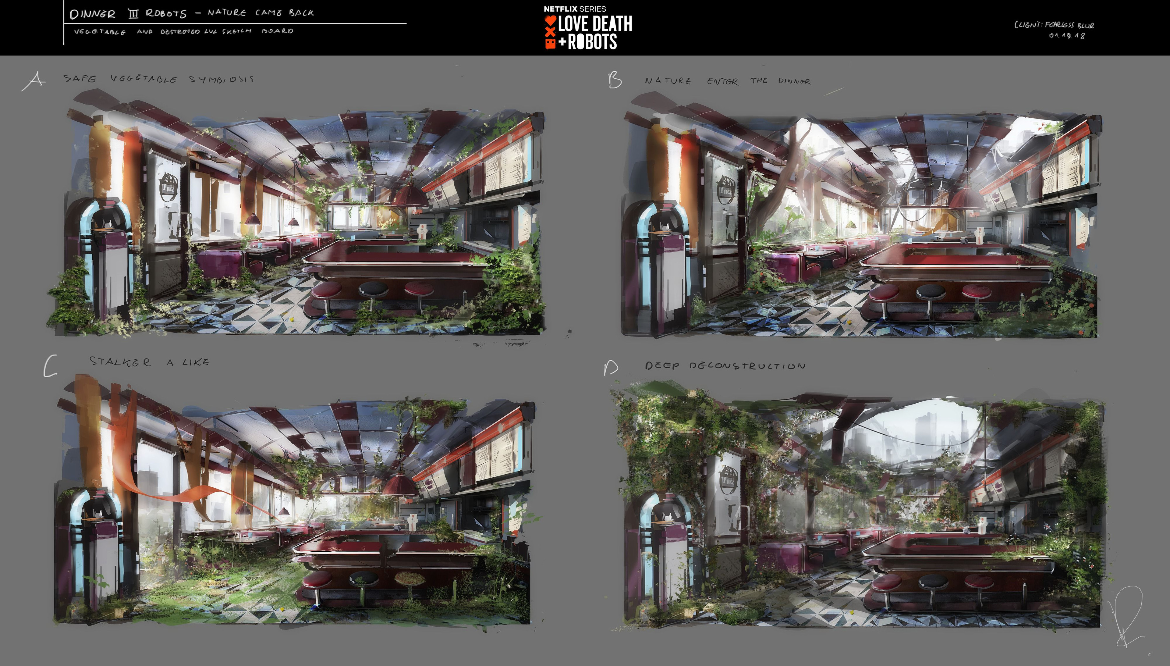 set of apocalypse variations on pitched concept view