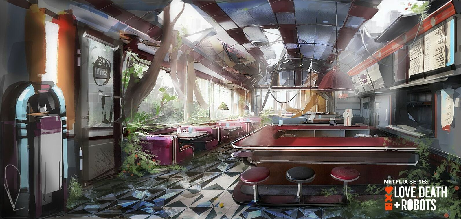 nature enters the diner