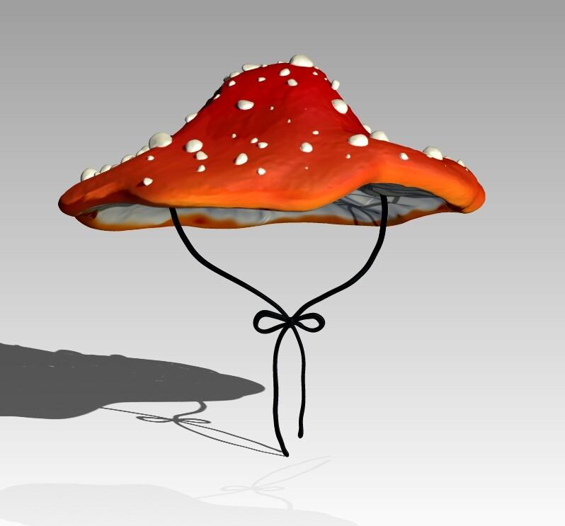 Product shot of Mushroom Hat