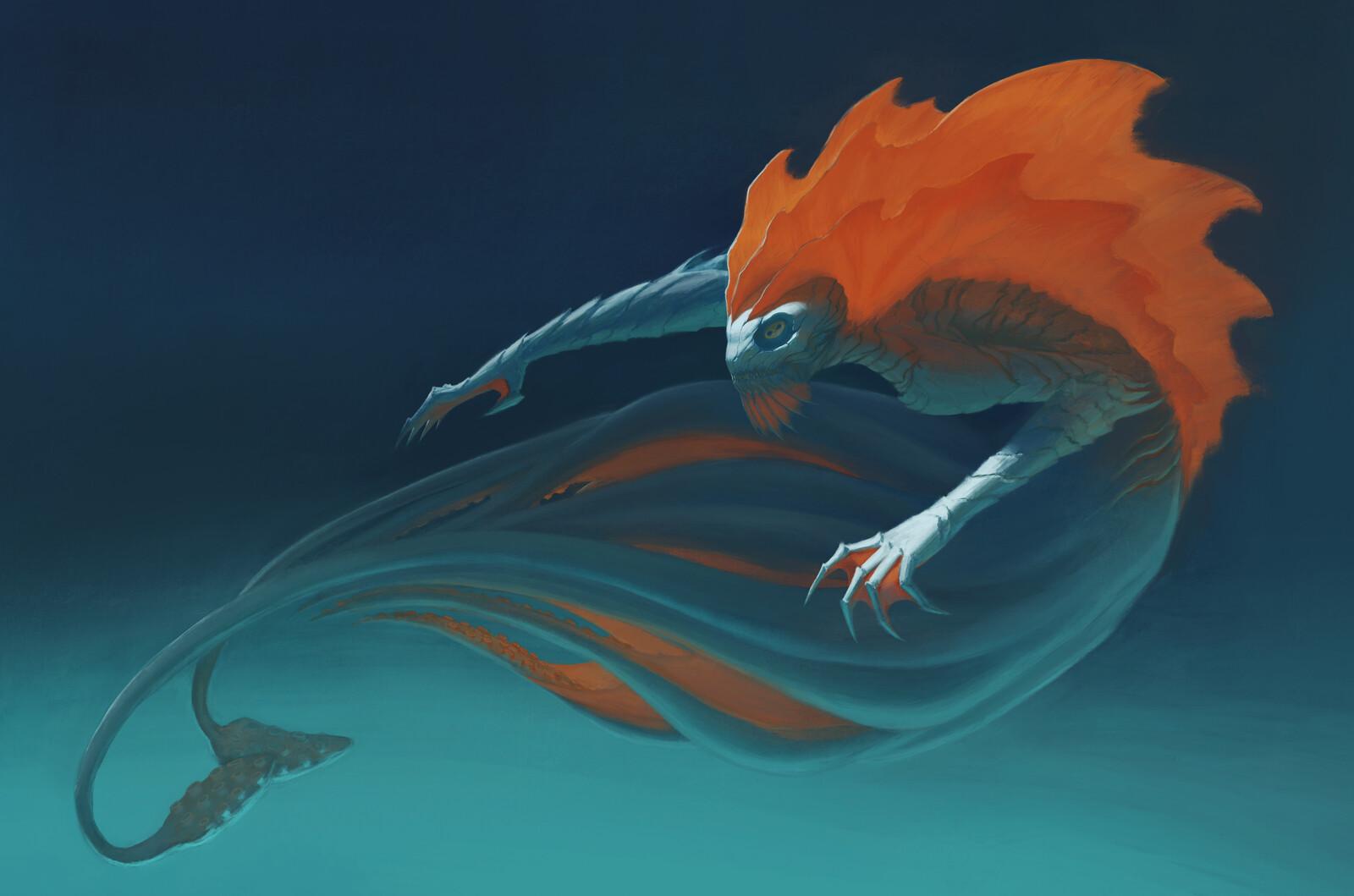 Personal IP: Mermaid Type Creature