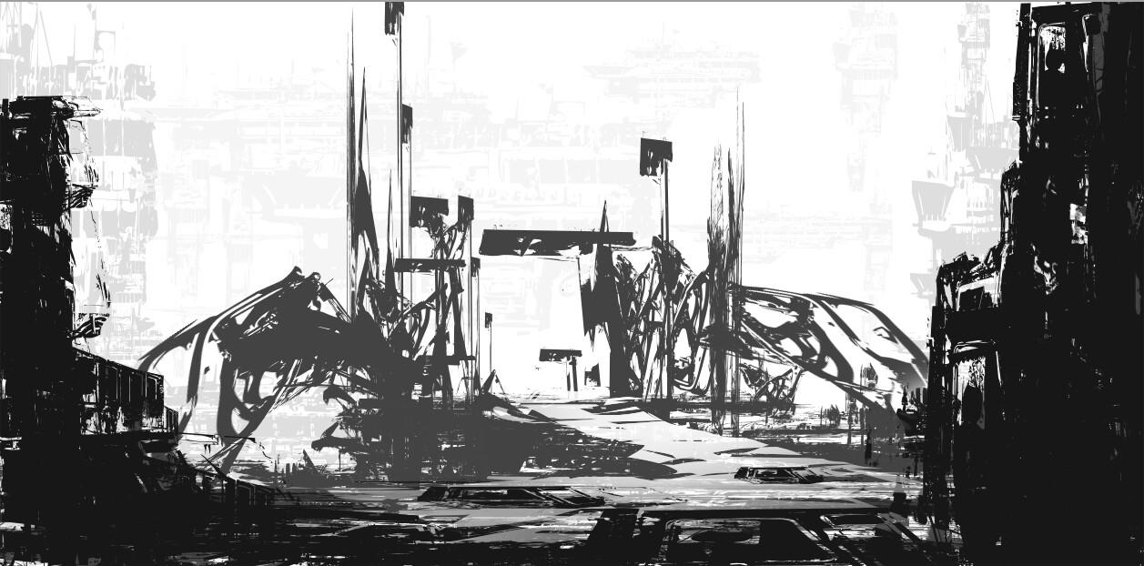 Helen ilnytska gate sketch