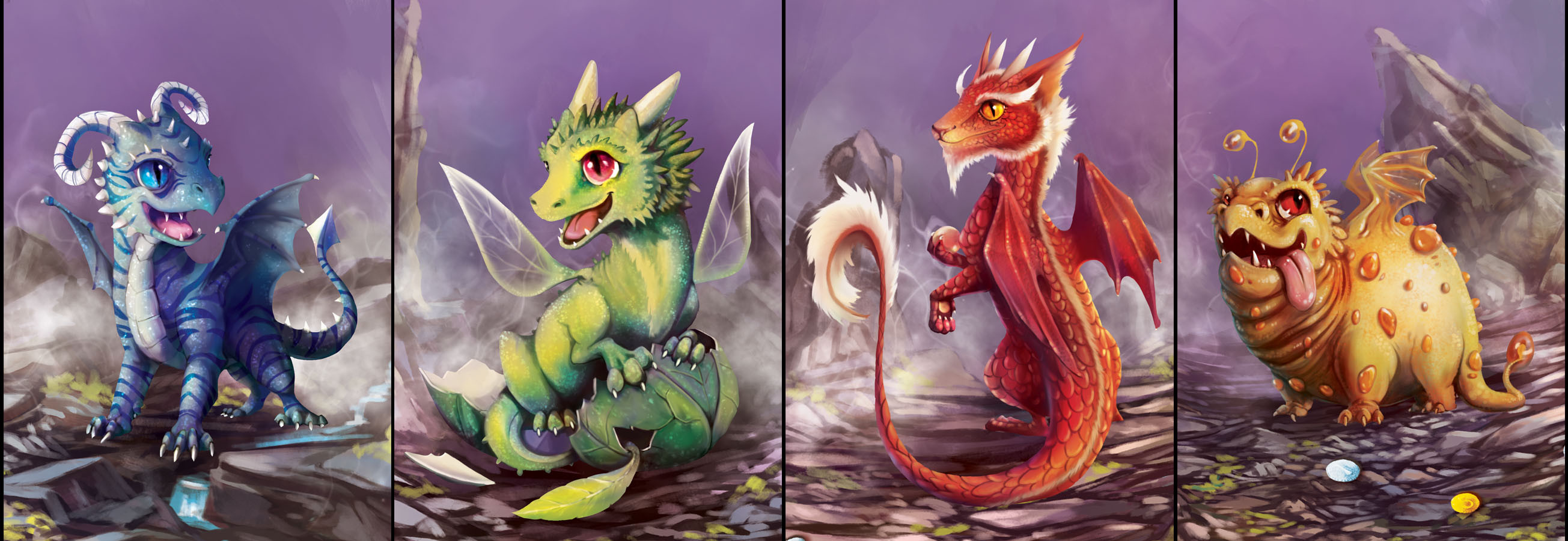 Hatchling Dragon Cards