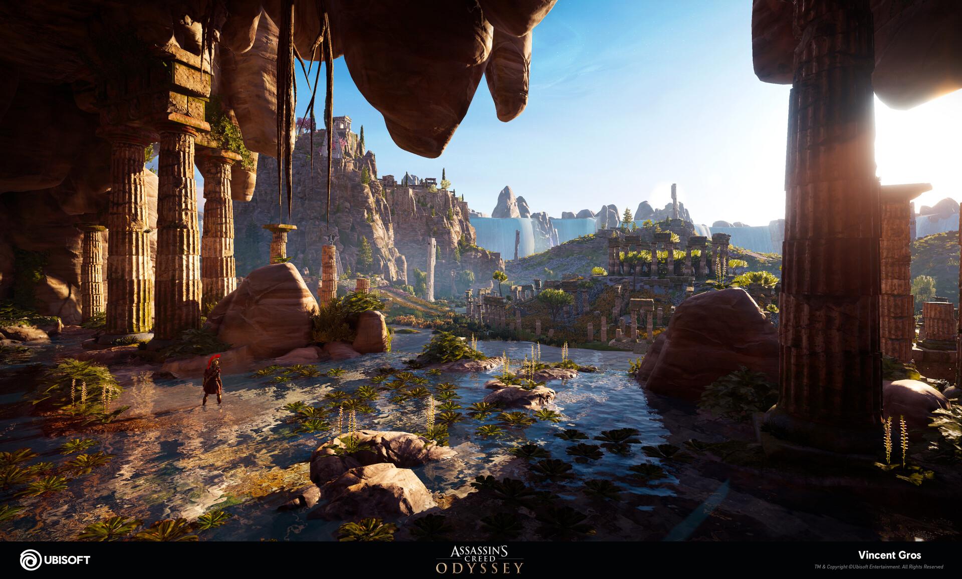 Artstation Assassin S Creed Odyssey Fields Of Elysium