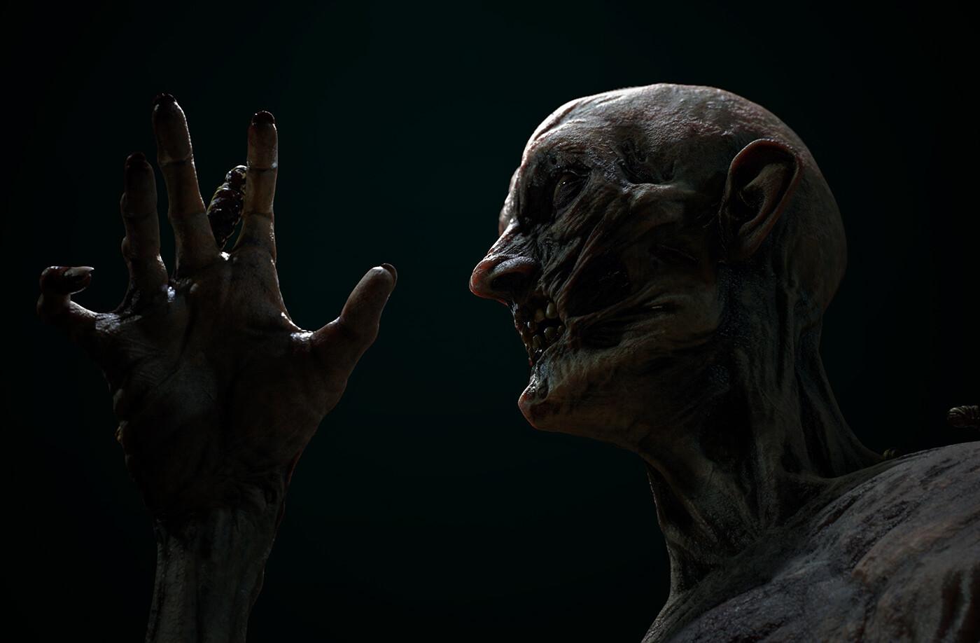 Pablo munoz gomez pmg substance source zombie dark render03