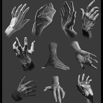 Bernice wang hand studies