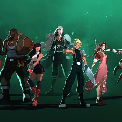 Lap pun cheung ffvii the characters online