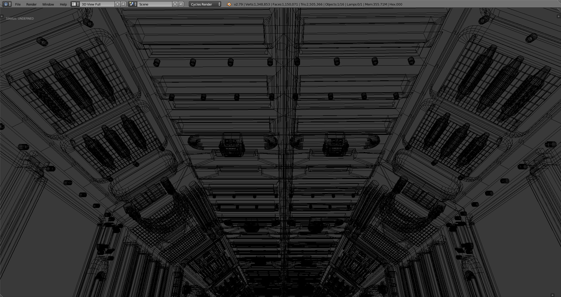 Marcos torres sci fi corridor6