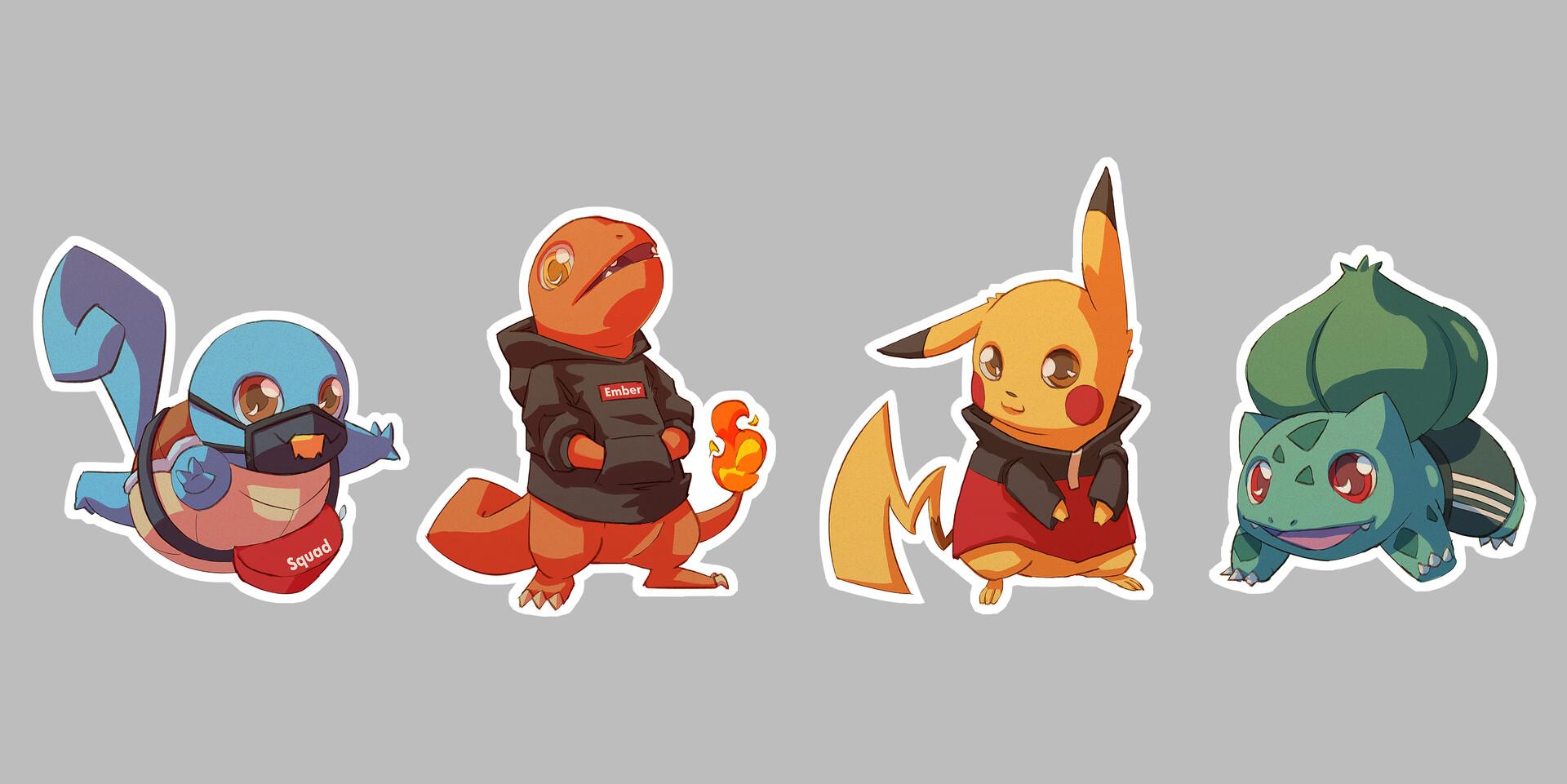 Michelle lo sticker pokemon