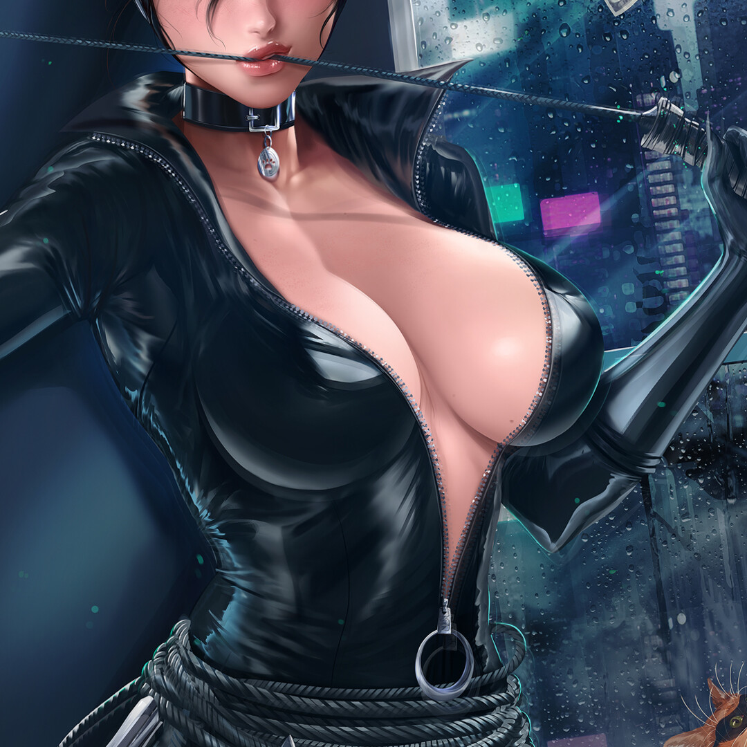 Hot catwoman 65+ Hot