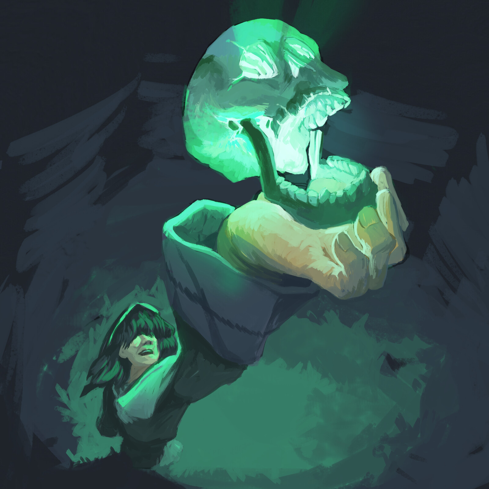 Magical Skull