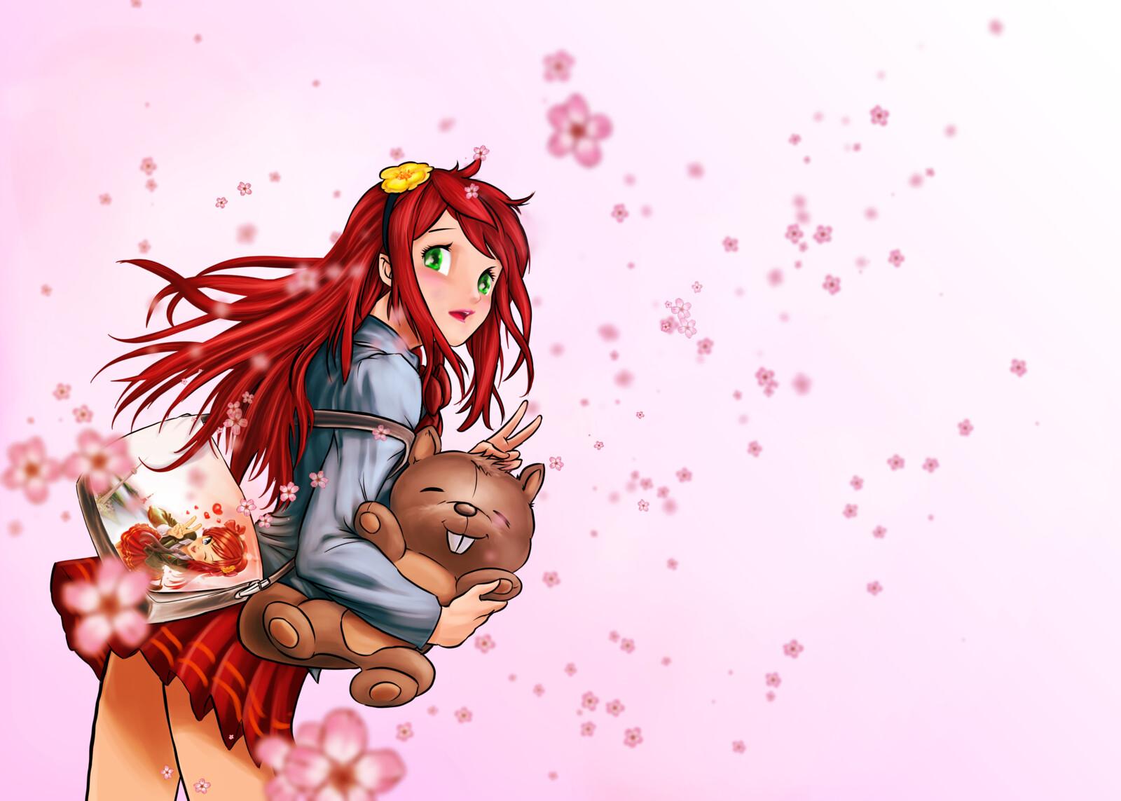 Office Anime North 2019 Merchandise Artwork