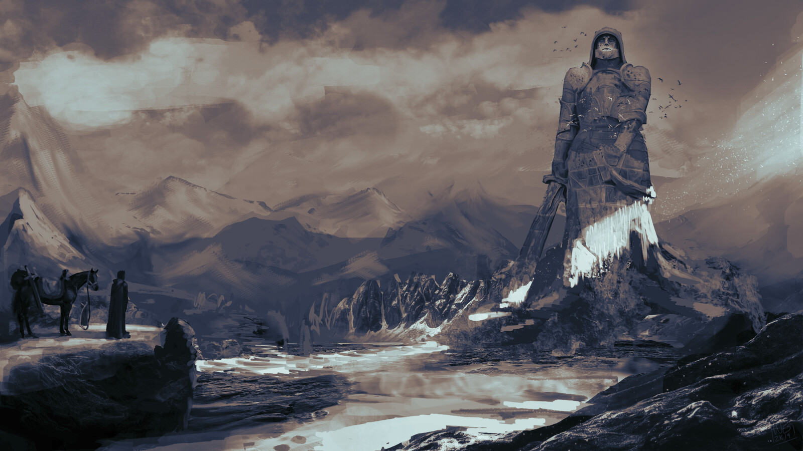 The Fallen Knight of Valhalla