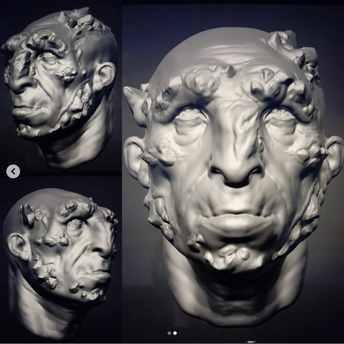 Timelapse of this dude, showing the sculpting process while in ForgerApp on my iPad.