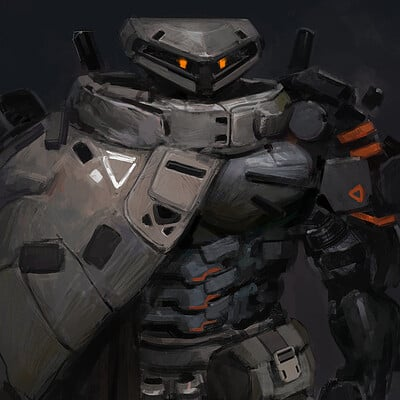 Yuan cui robot warrior