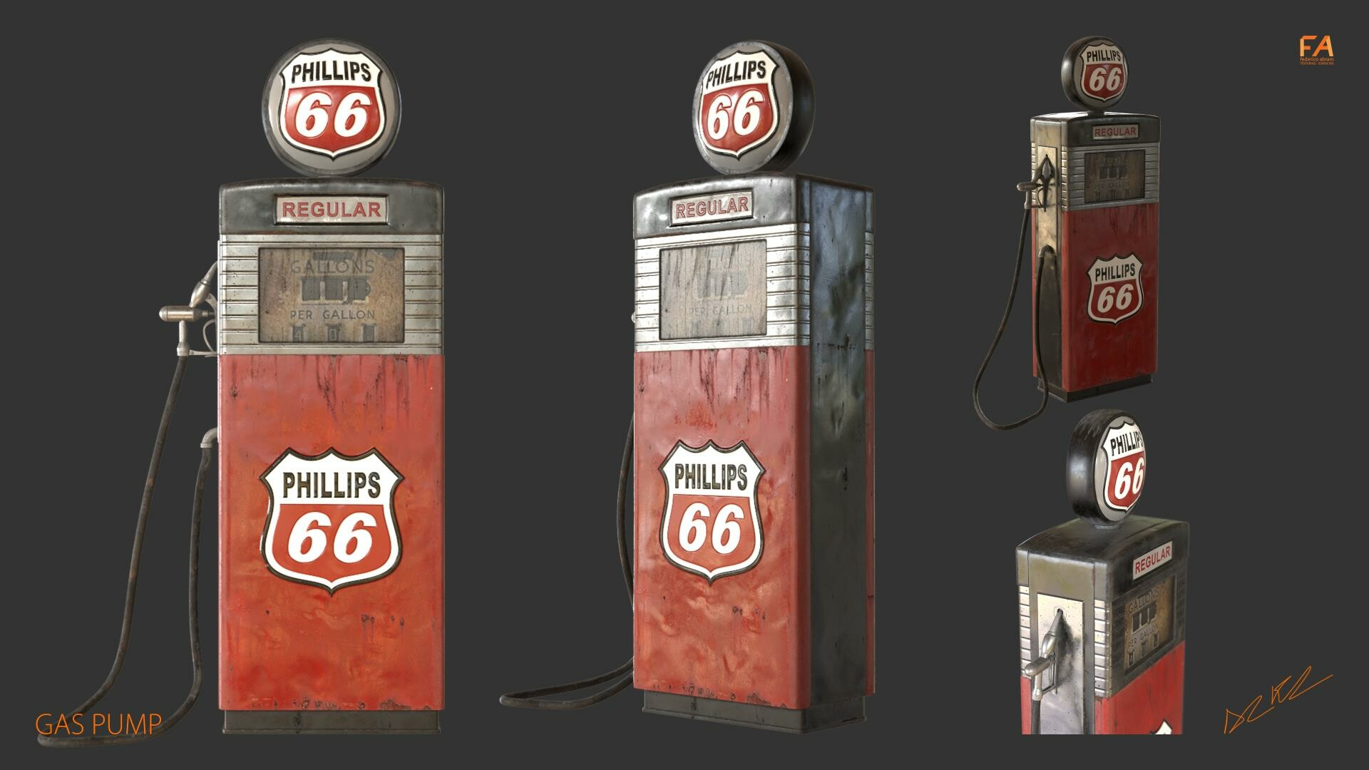 Federico abram gas pump