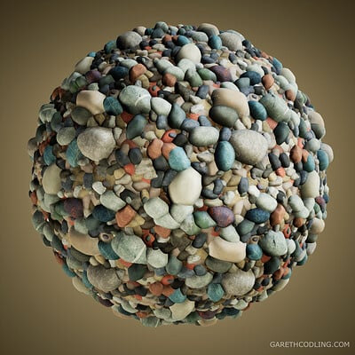 River Pebbles - Substance Designer