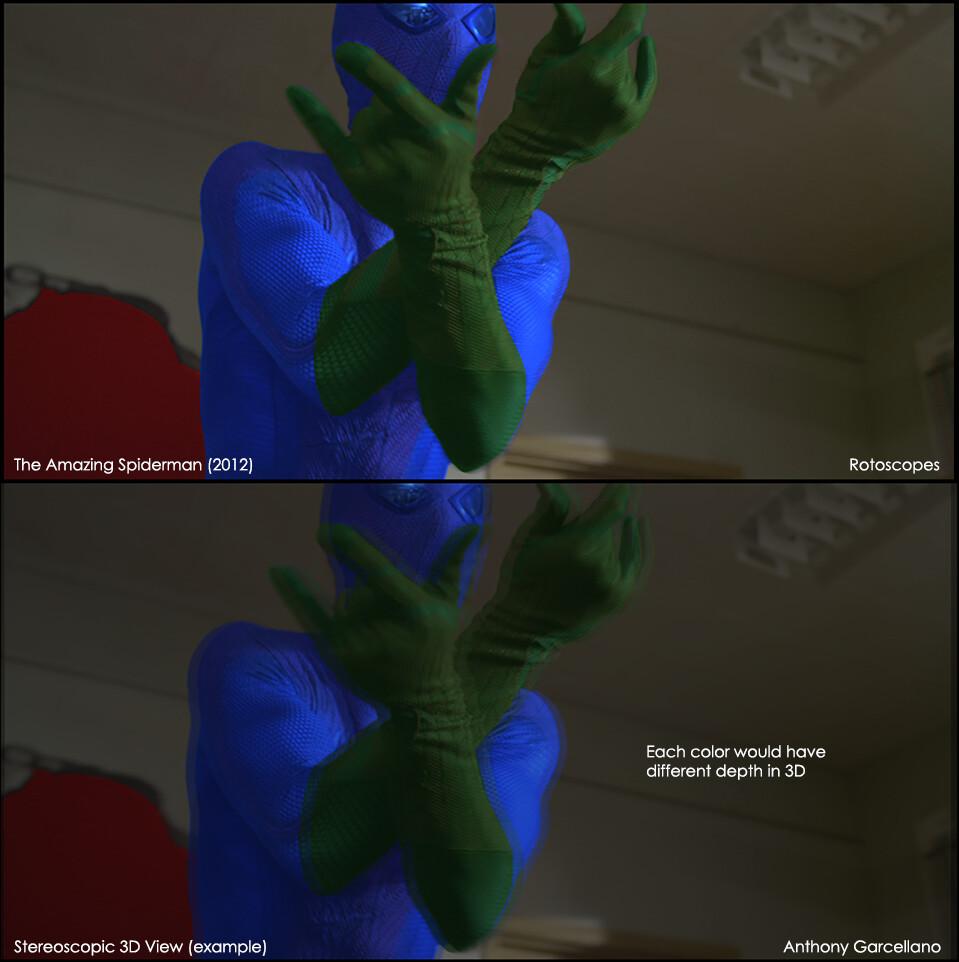 The Amazing Spider-man (2012) - Rotoscopes