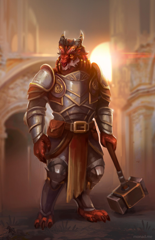 Dragonborn Paladin Dnd 5e - Shakal Blog