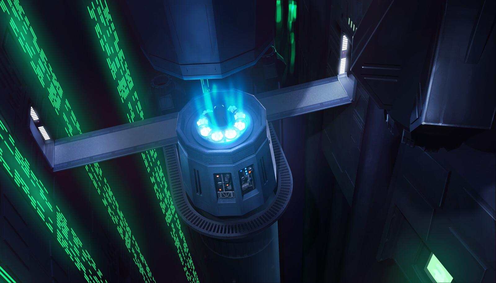 SW:D Tractor Beam Generators