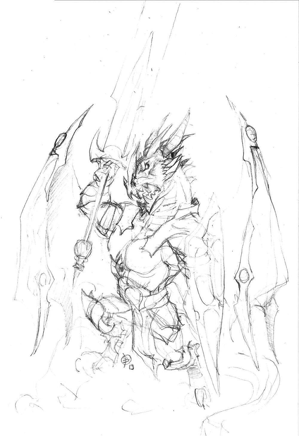 Andrey kamenov dragon warrior 01