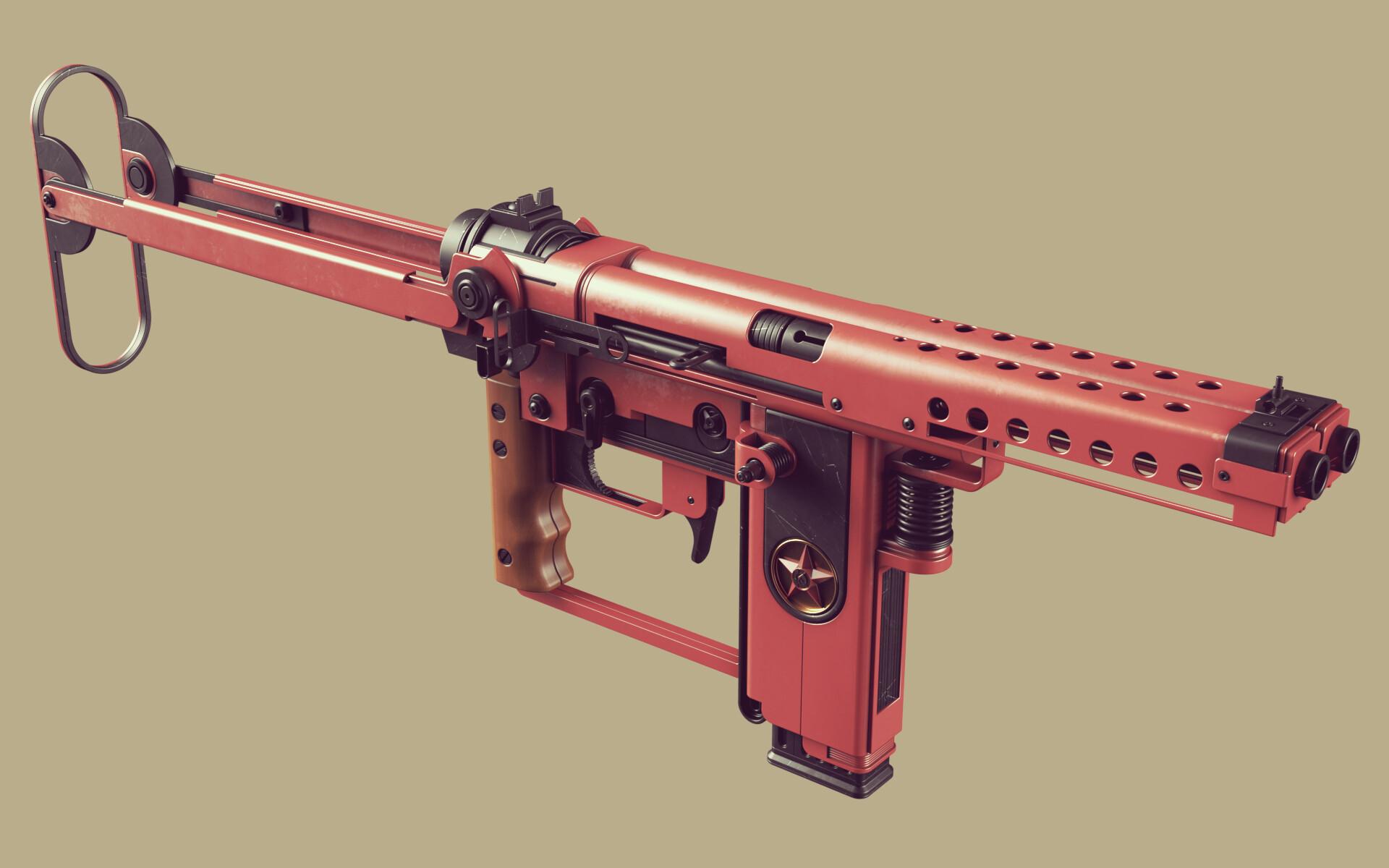 Ben nicholas bennicholas weapon volk machinepistol 02