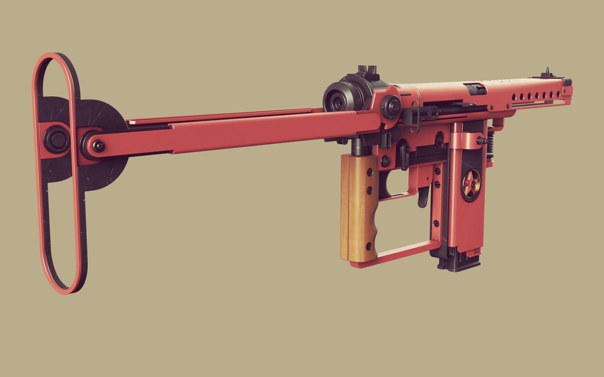 Ben nicholas bennicholas weapon volk machinepistol 03