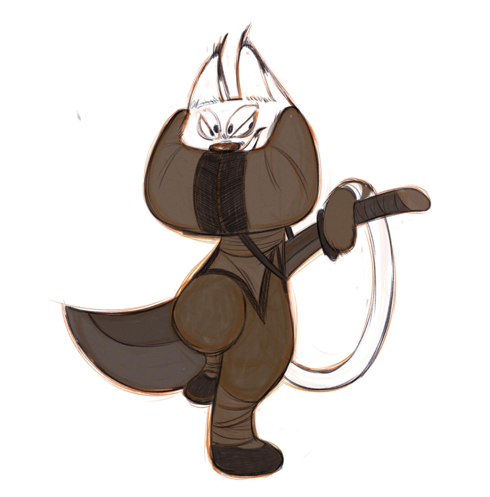 Kungfu Panda style study