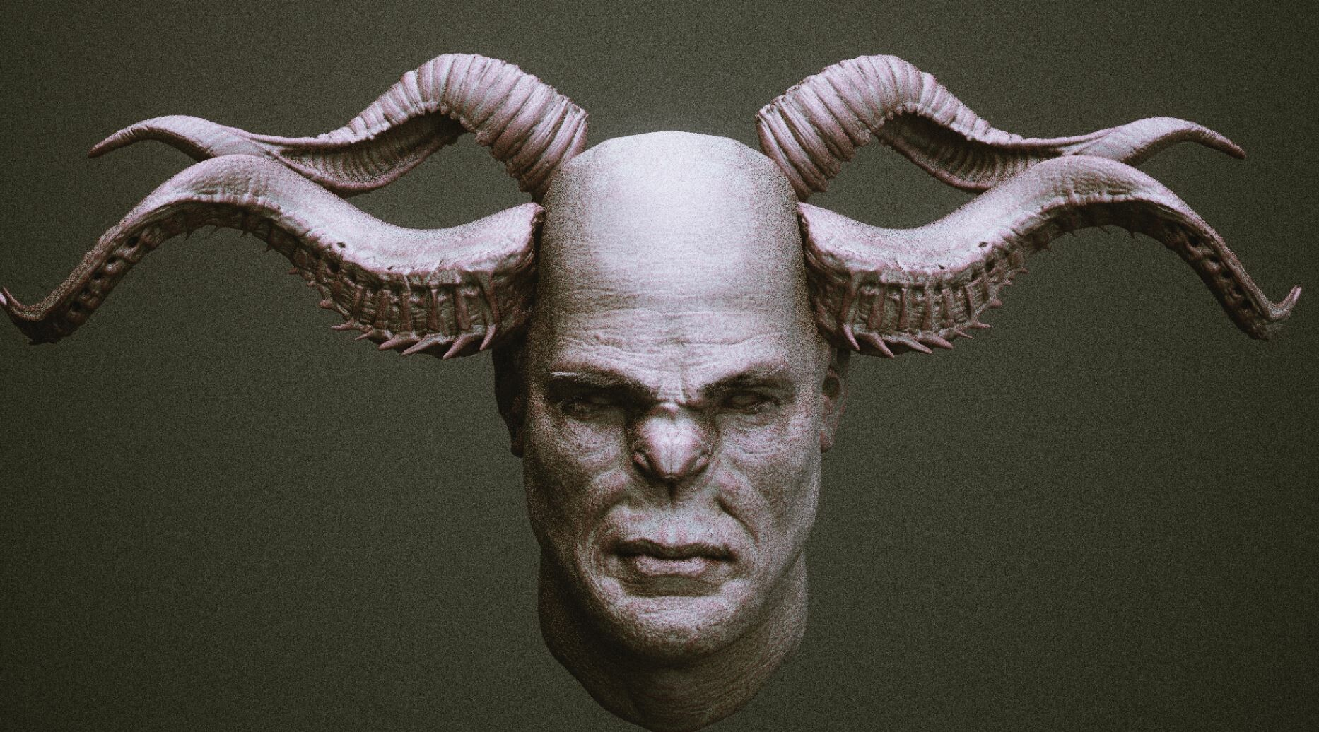 ArtStation - Creature Feature Volume 5 : HORNS, Bernhard van