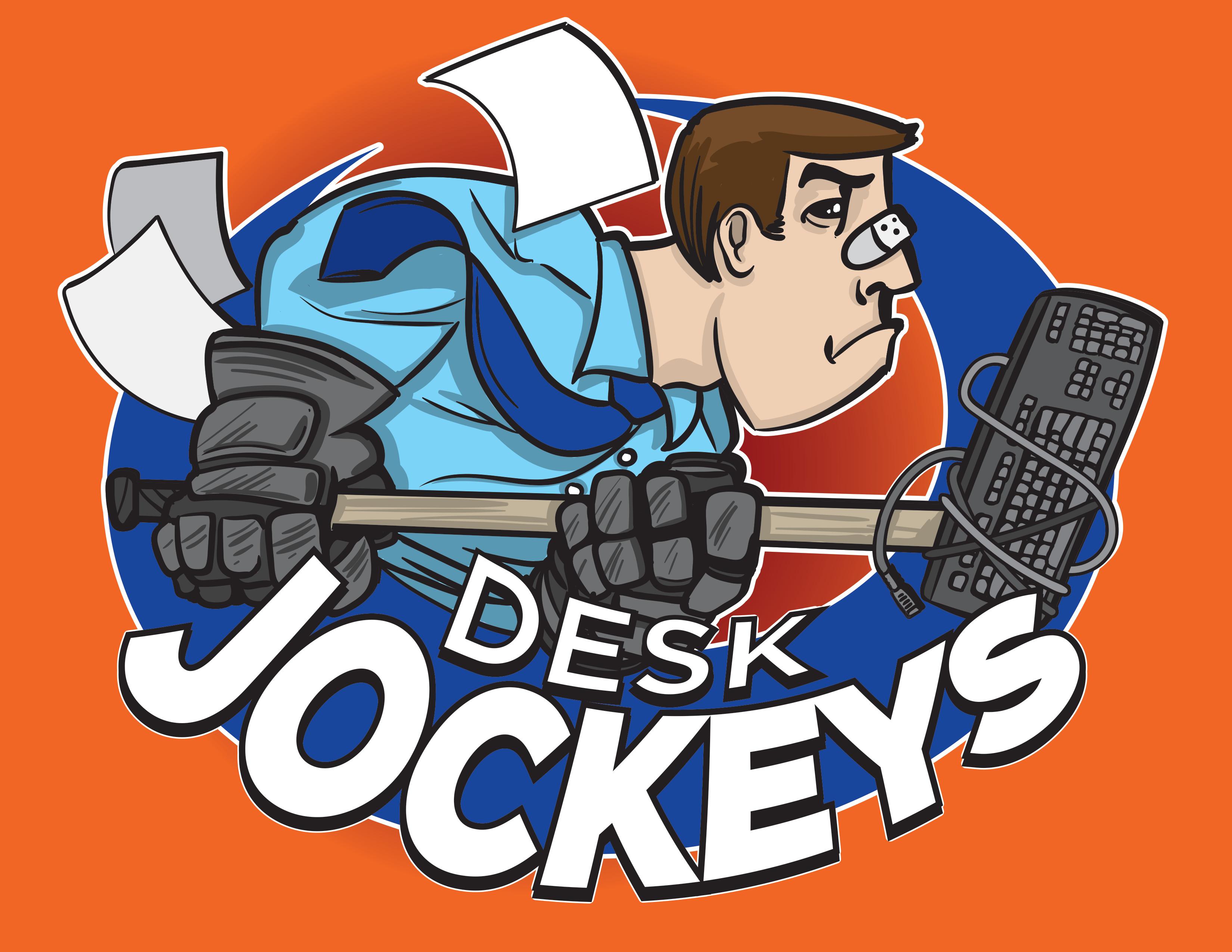 Desktop Jockeys Hockey Jersey Logo