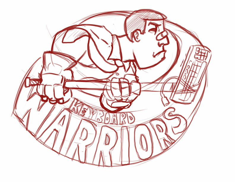 Mike johnston hockeylogo keyboardwarriors