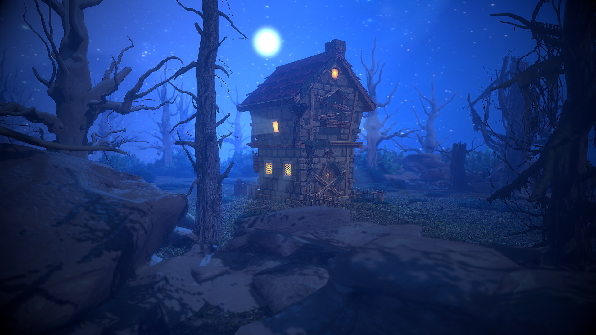 Low poly house for tale devils horse Started setting up for renderinglow polytris 6194Faces3121verts3774Low Poly  scorpion3dcom  Tomas Laureckis
