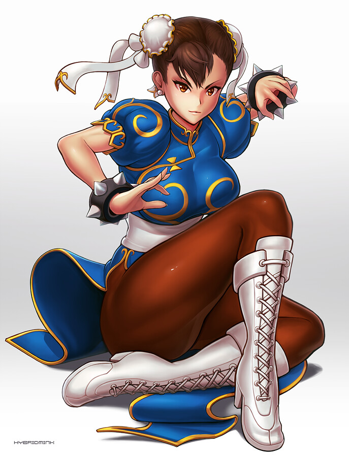 Pictures of naked chun li