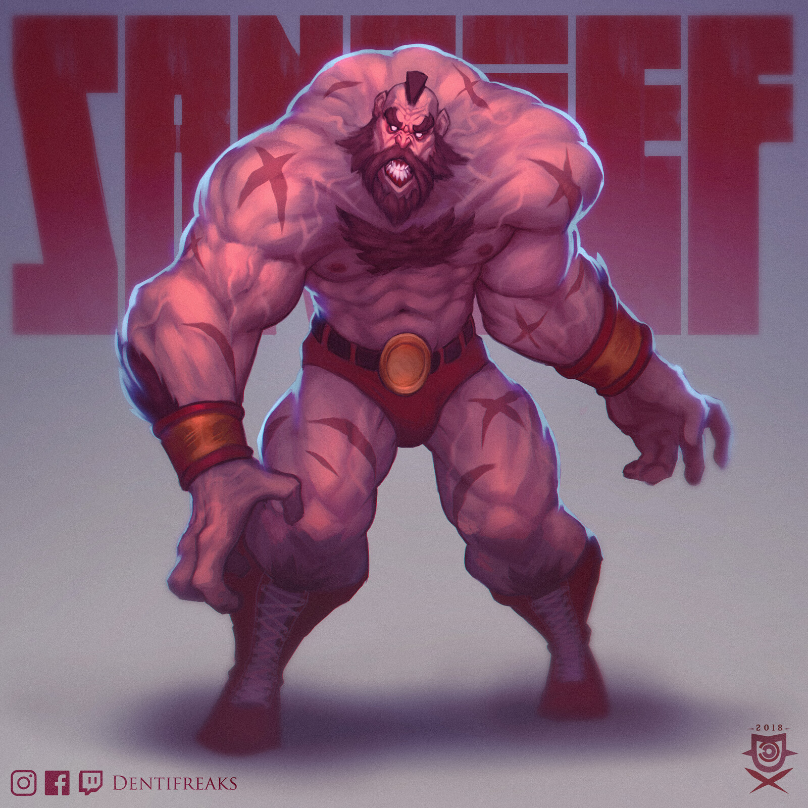 Zangief (second entry)