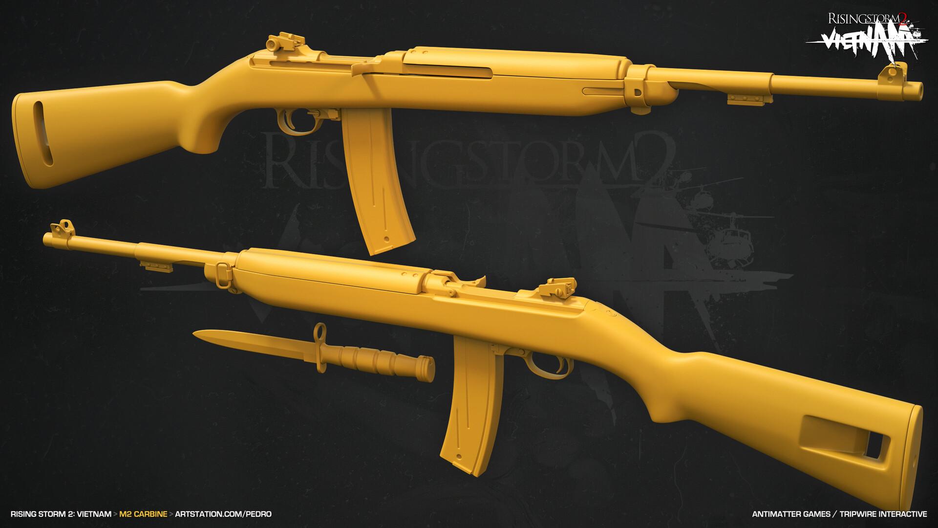 Pedro Amorim - Rising Storm 2: Vietnam - Automatic Rifles