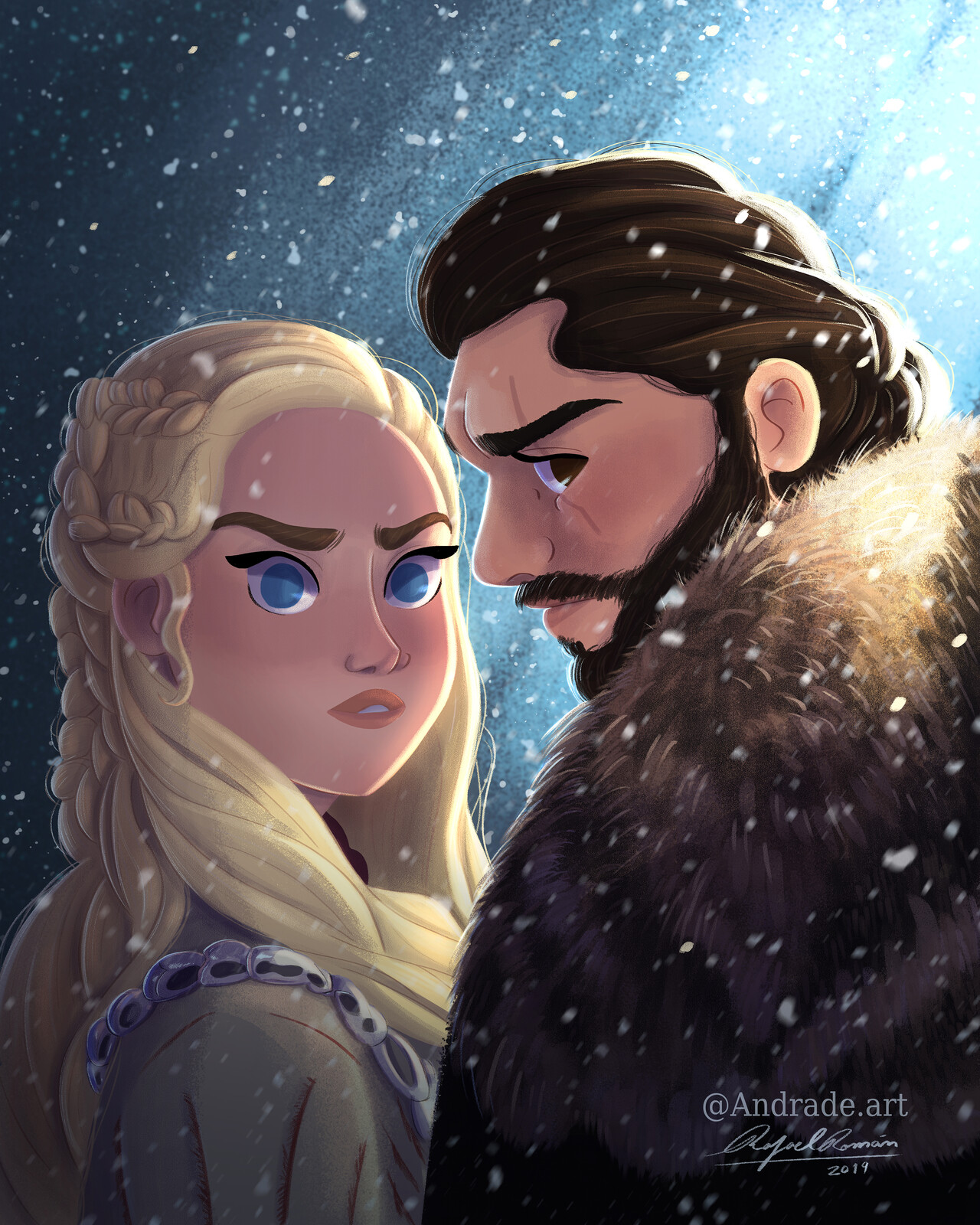Dany And Jon Game Of thrones