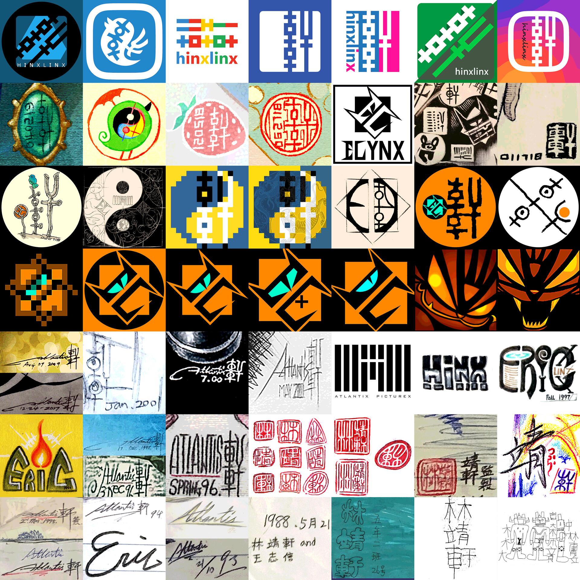 Evolution of Logo / Signature / Avatar III