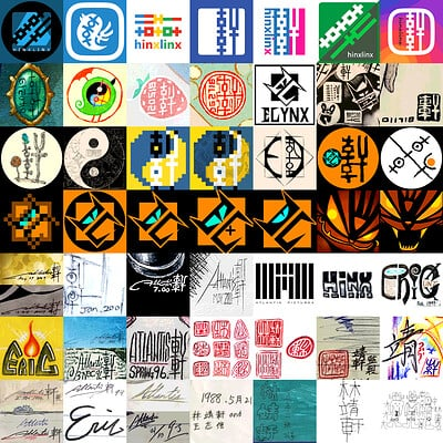 Evolution of Logo / Signature / Avatar III