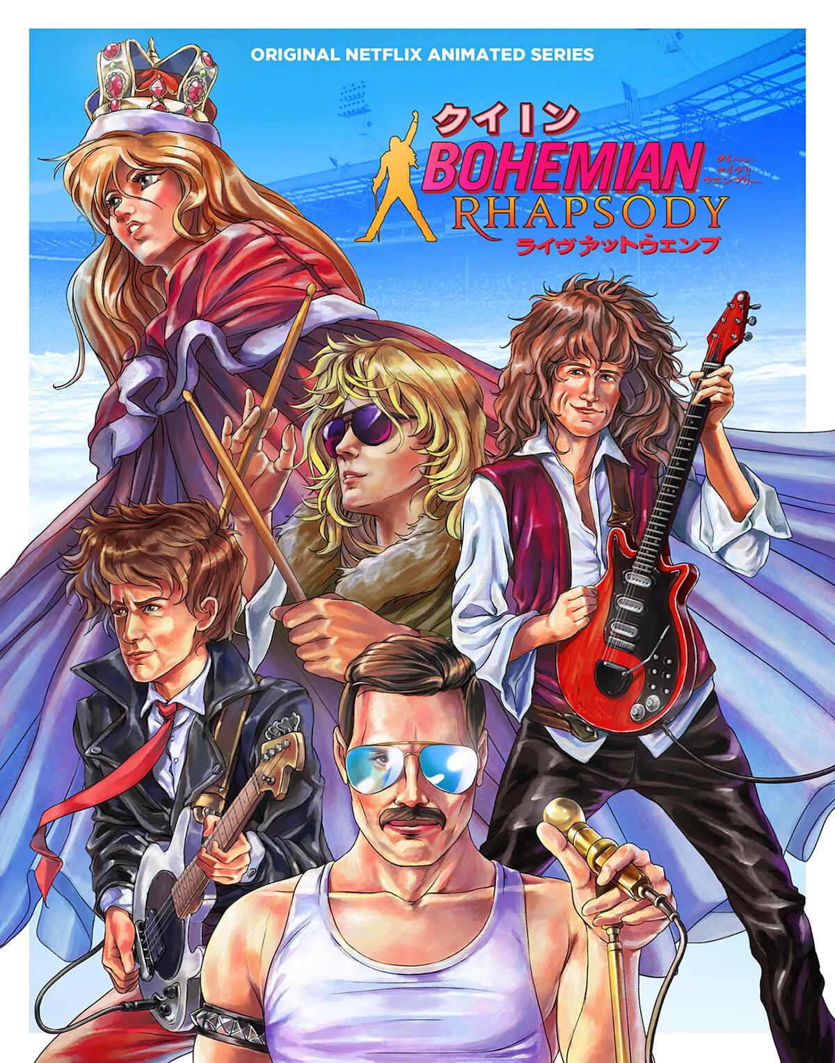 ArtStation - Bohemian Rhapsody, F  Dranka