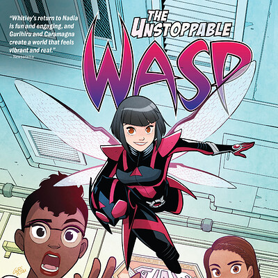 Design and Layout for Marvel's The Unstoppable Wasp: Unlimited Vol. 1: Fix Everything
