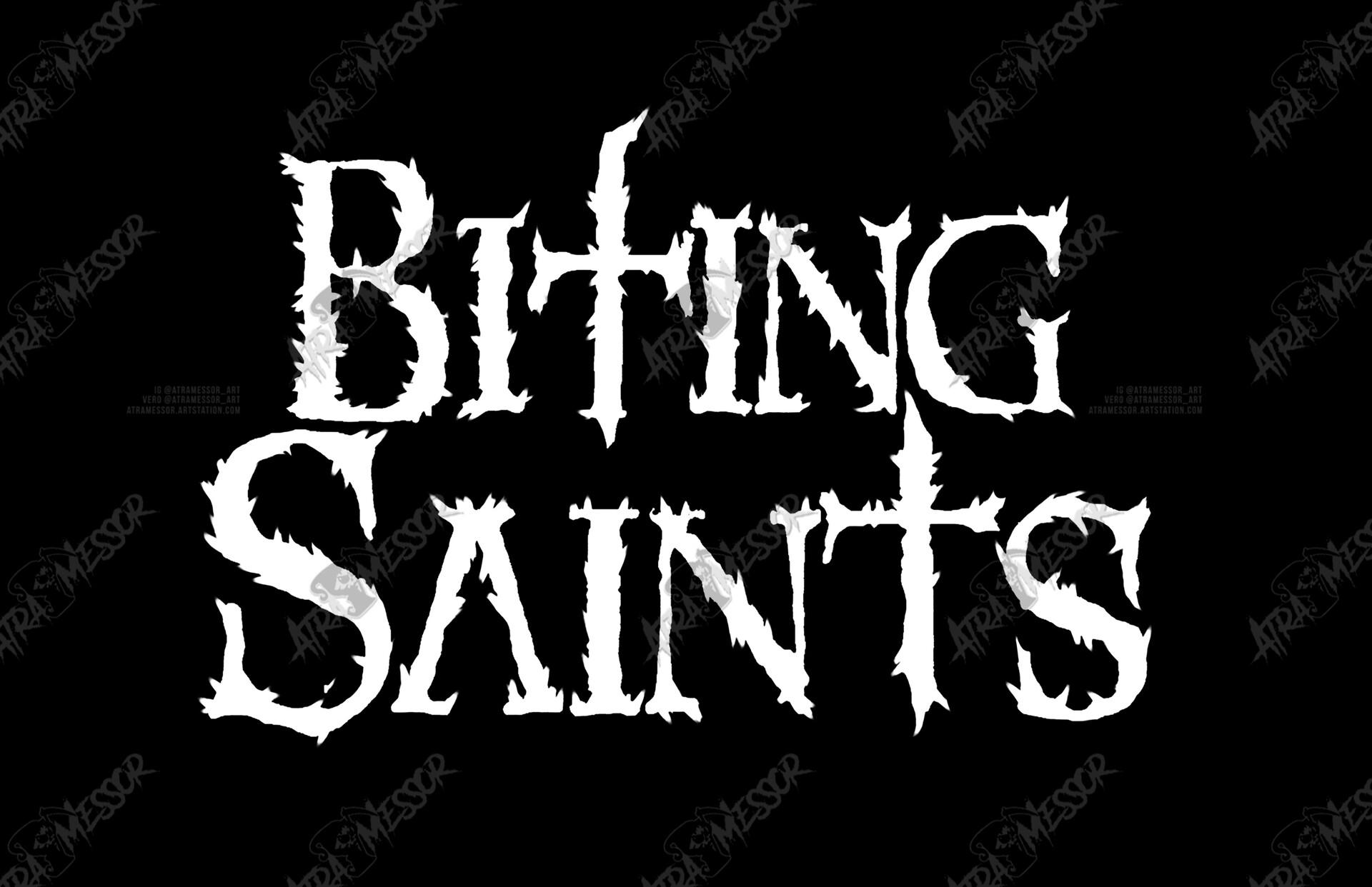 Biting Saints Logo (band)