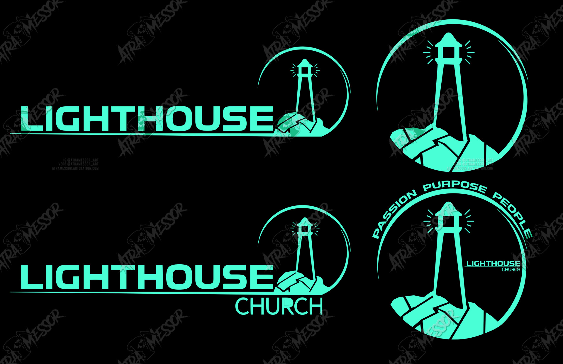 Lighthouse Church Logo (commission)