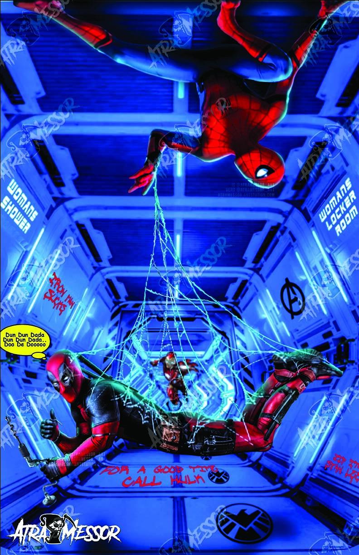Spidey X Deadpool
