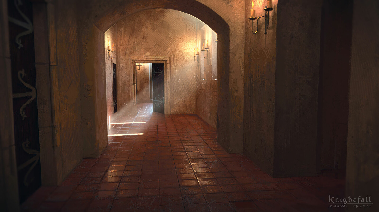 Convent's hallway