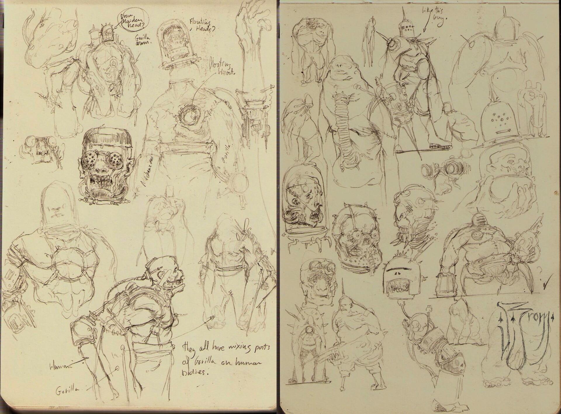 Daniel zrom danielzrom axismonstrositie sketches2