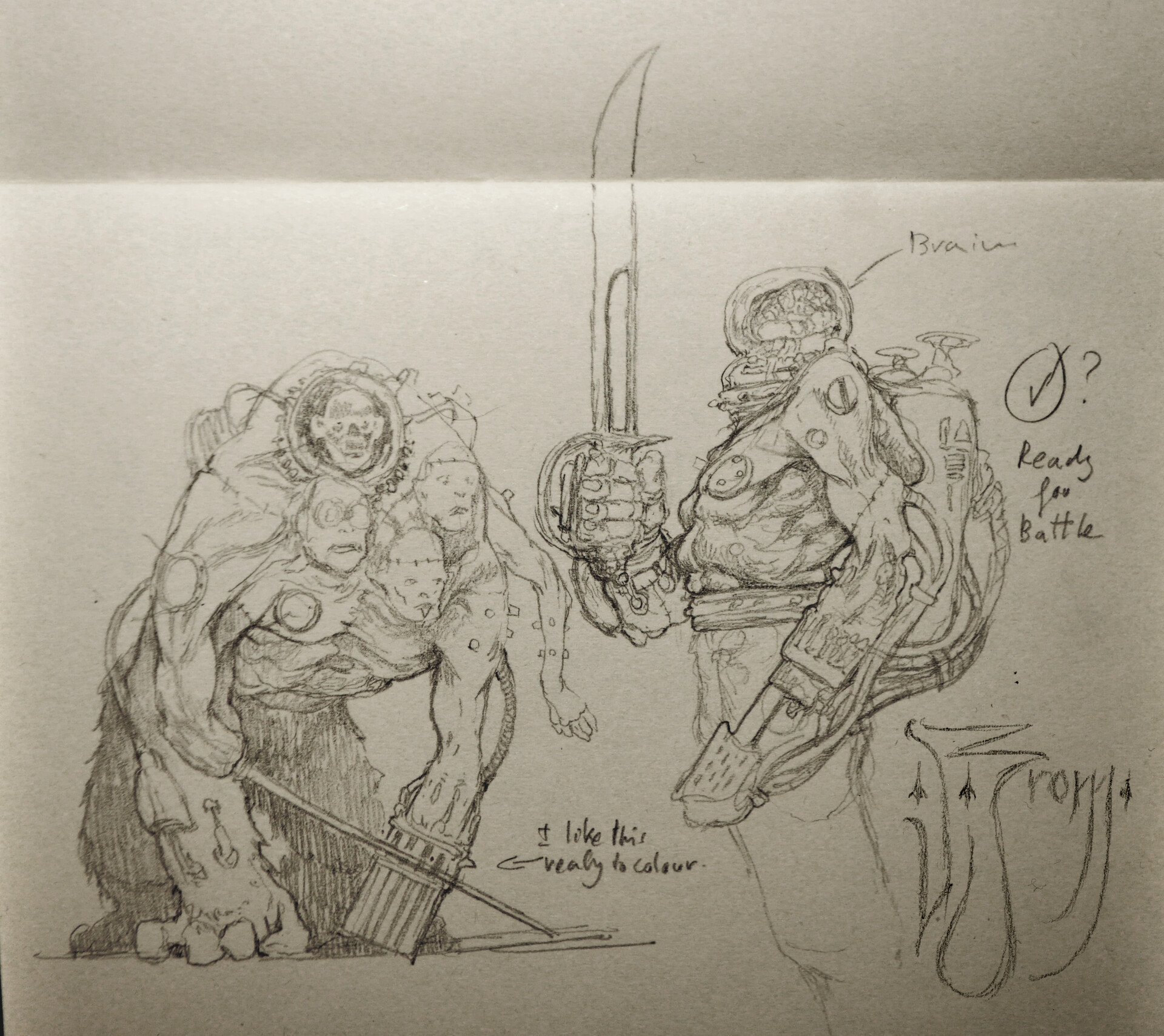 Daniel zrom danielzrom axismonstrositie sketches3