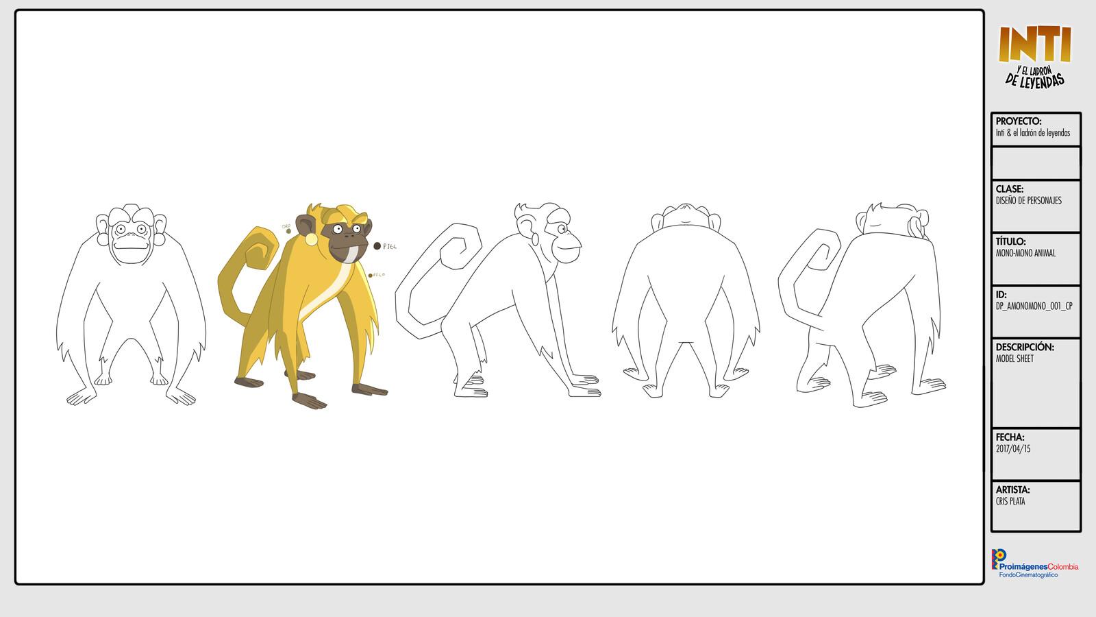 Mono Mono - Character Design / Turn Around