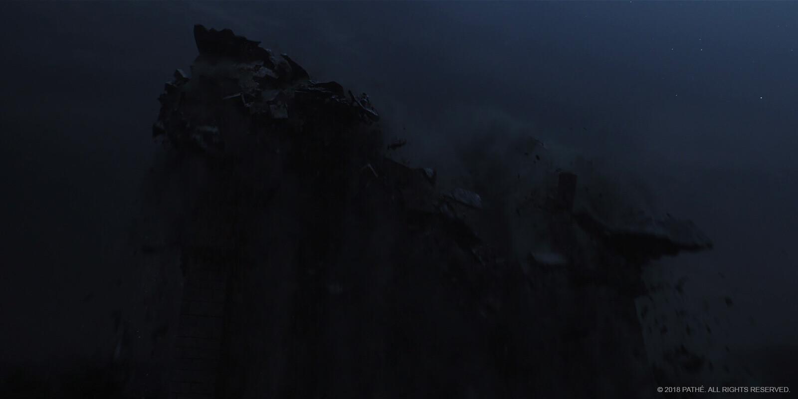 L'Aquila earthquake - texturing, shading, lighting